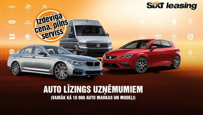 Sixt Leasing – pilna servisa auto līzings uzņēmumiem