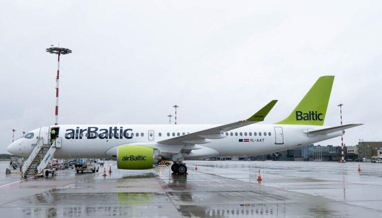 'airBaltic' saņem divdesmito 'Airbus A220-300' lidmašīnu un noslēdz sākotnējo pasūtījumu