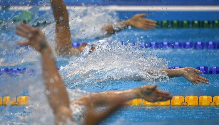 Latvijas peldētāji paliek pēdējie pasaules čempionāta 4x100 metru kombinētajā stafetē