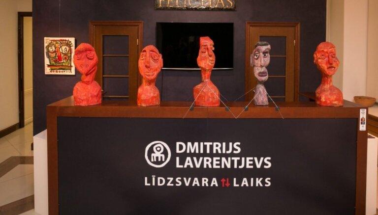 Dmitrija Lavrentjeva izstāde 'Līdzsvara laiks'