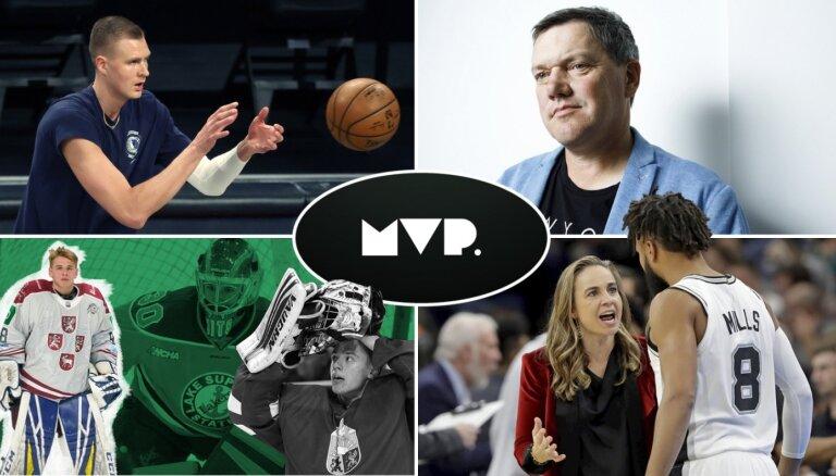 'MVP': Porziņģa realitāte Dalasā, vārtsargu trio Amerikā un galvenā trenere-sieviete NBA