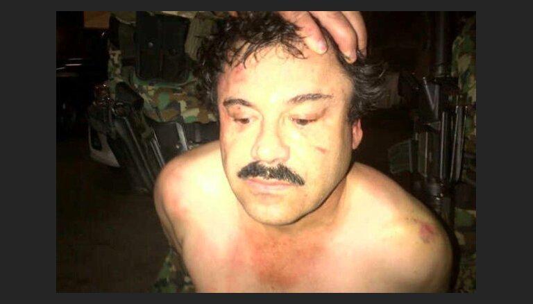El Chapo pa kanalizācijas sistēmu skrēja kails: mīļākā atklāj narkobarona bēgšanas detaļas