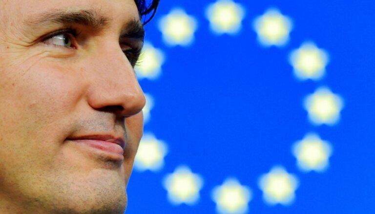 Kanādas parlamenta vēlēšanās visvairāk vietu ieguvusi Trudo Liberālā partija, liecina prognozes