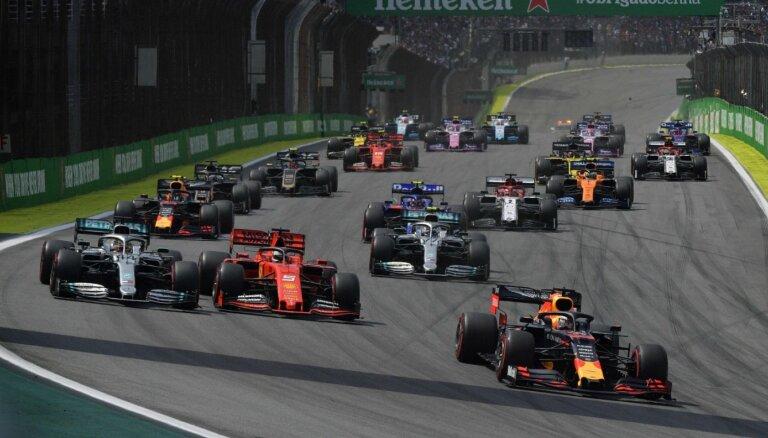F-1 Beļģijas 'Grand Prix' notiks bez skatītājiem