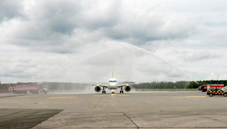 'airBaltic' saņem vienpadsmito 'Airbus A220-300'