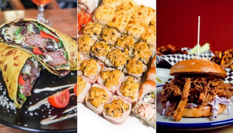 11 рижских кафе и ресторанов, где можно заказать вкусную еду навынос