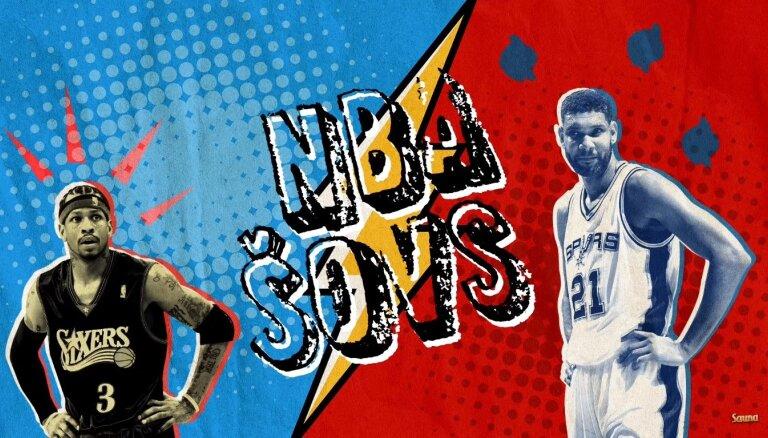 NBA šovs: Līderis Kairijs, latviešu Bobans & UFC KP