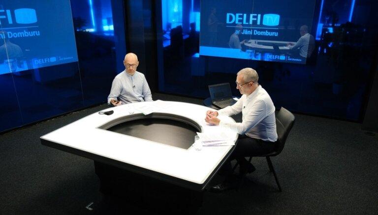 'Delfi TV ar Jāni Domburu' atbild veselības ministrs Daniels Pavļuts. Pilns ieraksts