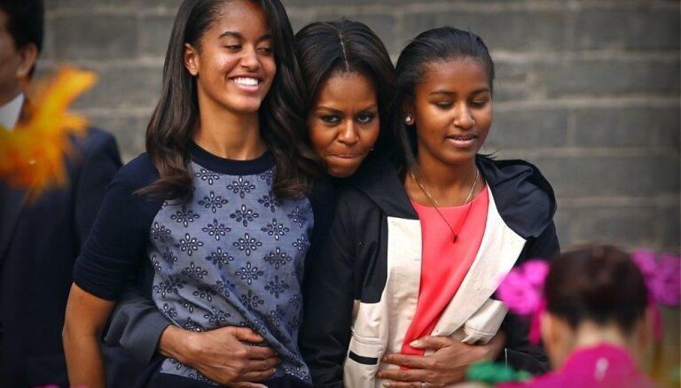 'Islāma valsts' hakeri izsaka draudus Obamas sievai un meitām