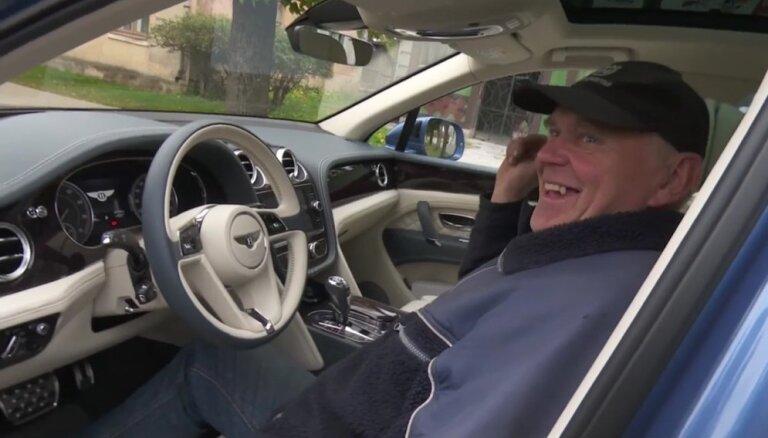 Dāvis testē – Bentley Bentayga