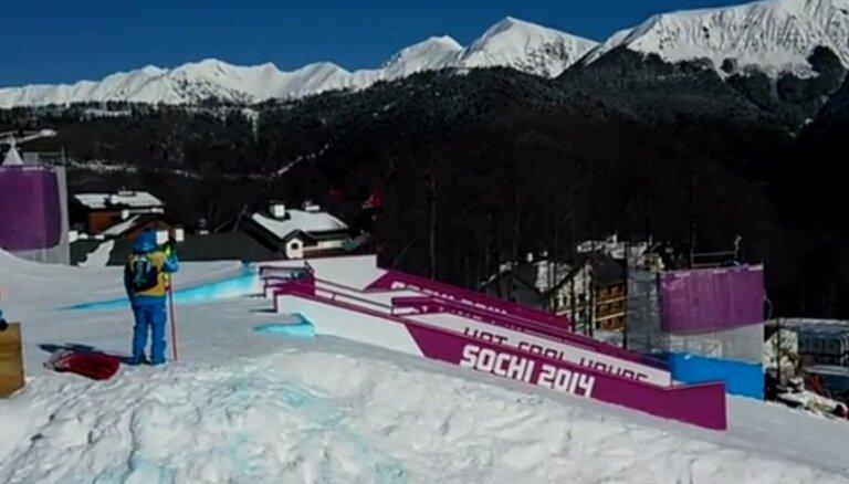 Video: kā norvēģu olimpiskā cerība pārvilka strīpu dalībai Soču Olimpiādē