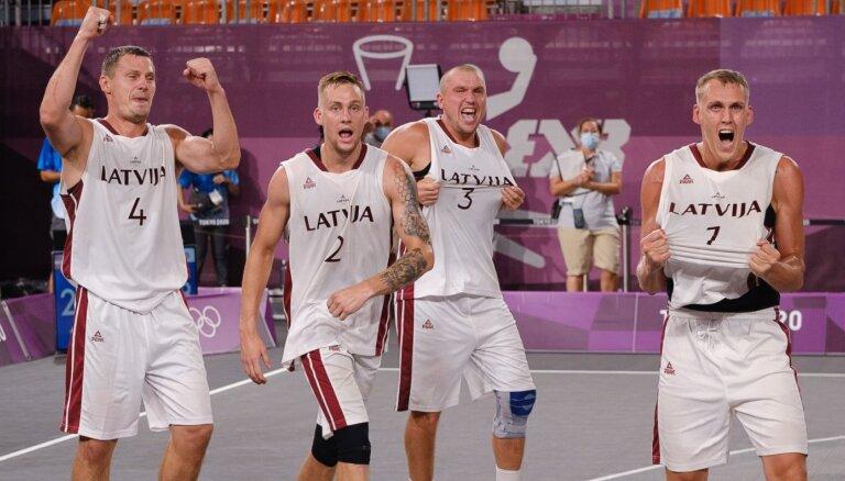 Olimpiskos čempionus 3x3 basketbolā aicina sveikt goda braucienā