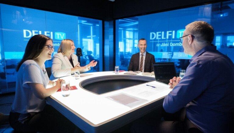Par ko balsot? 'Delfi TV ar Jāni Domburu' atbild 'Progresīvie'. Pilns ieraksts