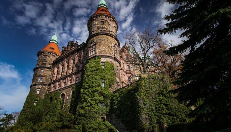 Pils Polijā, zem kuras, iespējams, noslēpts nacistu zelts