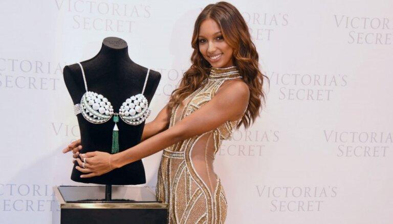 Foto: 'Victoria's Secret' prezentē trīs miljonus vērtu krūšturi