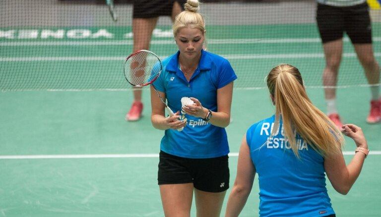 Foto: Jelgavā noskaidroti labākie badmintona turnīrā 'Yonex Latvia International 2019'