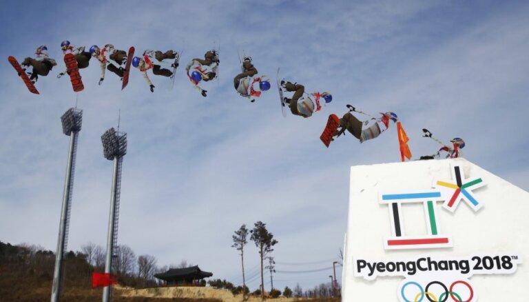 XXIII Ziemas olimpisko spēļu sacensības snovbordā sievietēm 'big air' disciplīnā (22.02.2018.)