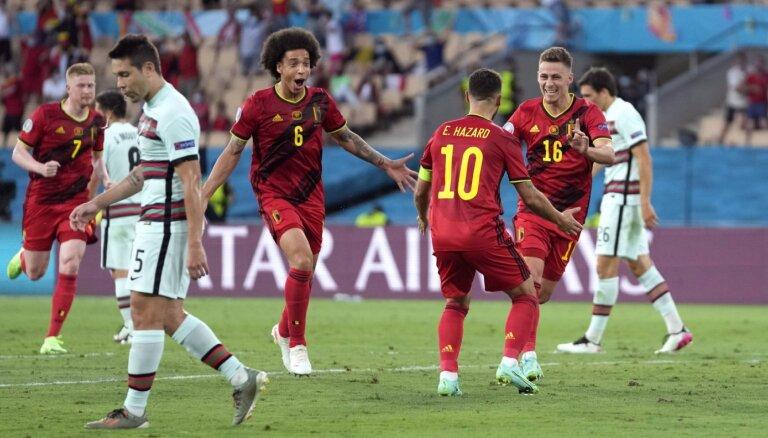 Роналду покидает ЕВРО-2020: Бельгия выбила из турнира действующих чемпионов