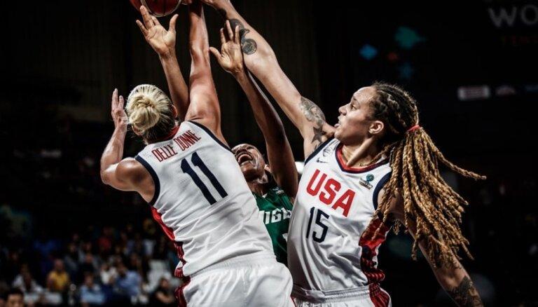 ASV un Austrālijas basketbolistes spēlēs Pasaules kausa finālā
