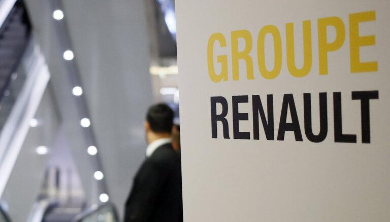 Francijas policija veic kratīšanu 'Renault' galvenajā birojā saistībā ar izmeklēšanu Gosna lietā