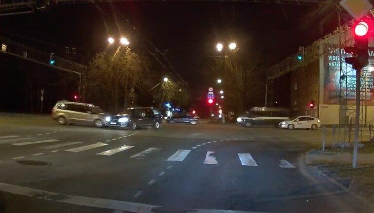 Autoavārija Kārļa Ulmaņa gatvē