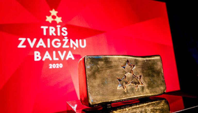 'Trīs zvaigžņu balva 2020' svinīgajā ceremonijā godinās Latvijas labākos sportistus