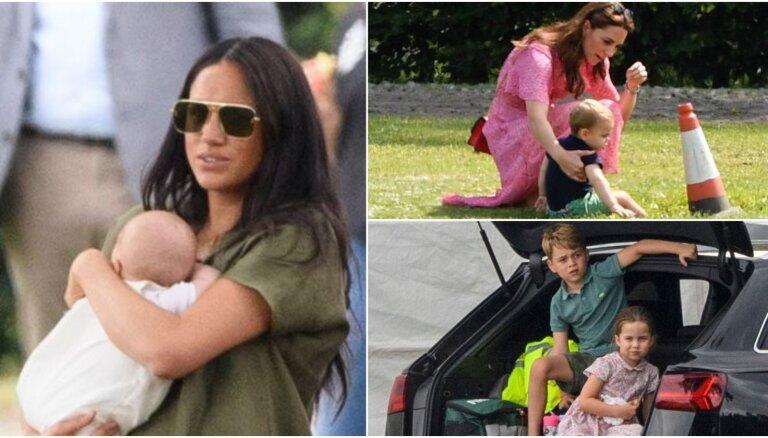 ФОТО: Королевские дети впервые все вместе вышли в свет