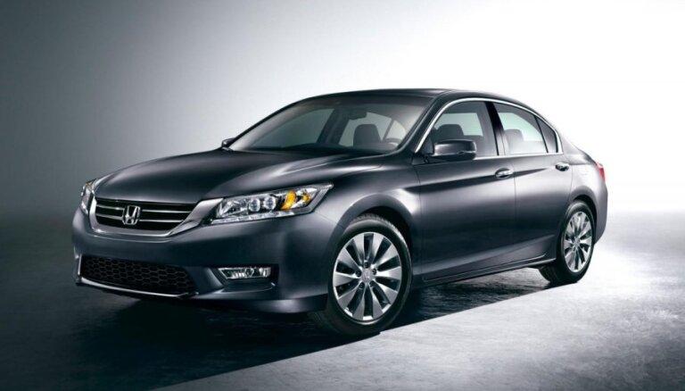 Honda познакомила с новым седаном Accord