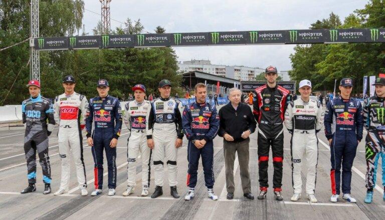 Latvijas autosportisti apmierināti ar 'World RX' posmu Biķernieku trasē