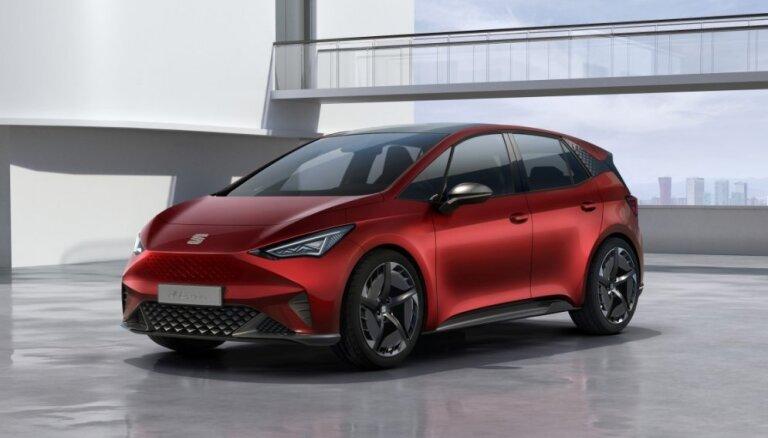 SEAT pirmais elektromobilis 'el-Born'