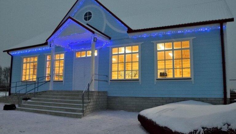 ФОТО. В Даугавпилсском крае появилась резиденция Деда Мороза