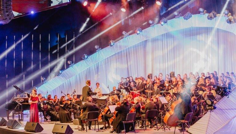 Ar īpašu koncertu godinās IV Vispārējos Dziesmu svētkus