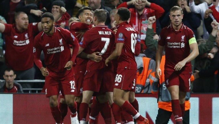 'Liverpool' fantastiskā Čempionu līgas mačā izrauj uzvaru pār PSG
