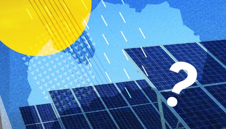 Kādēļ par saules paneļu saražoto elektrību jāmaksā OIK, neizprot zaļās enerģijas entuziasts