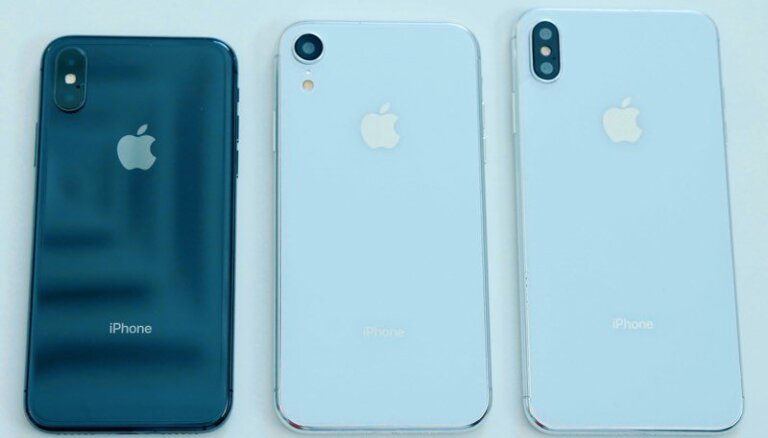 Drīzumā gaidāmo jauno 'iPhone' ar 6,5 collu ekrānu saukšot 'Xs Max'