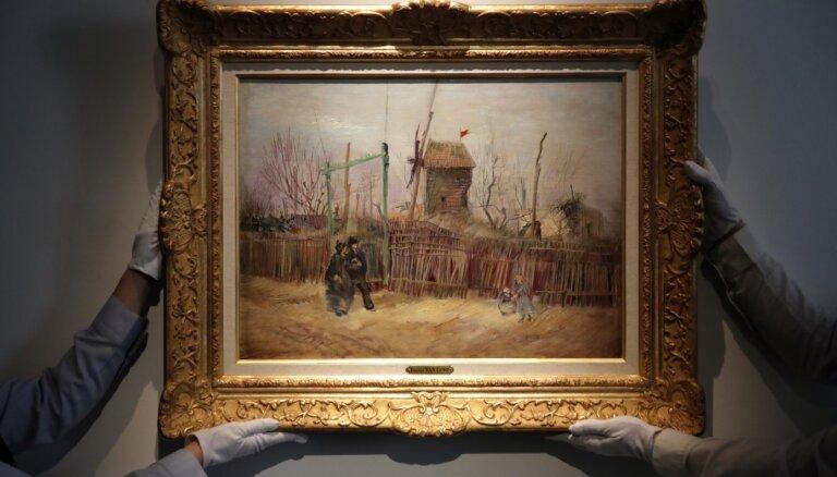 Izsolē pārdos iepriekš neredzētu Vinsenta van Goga gleznu