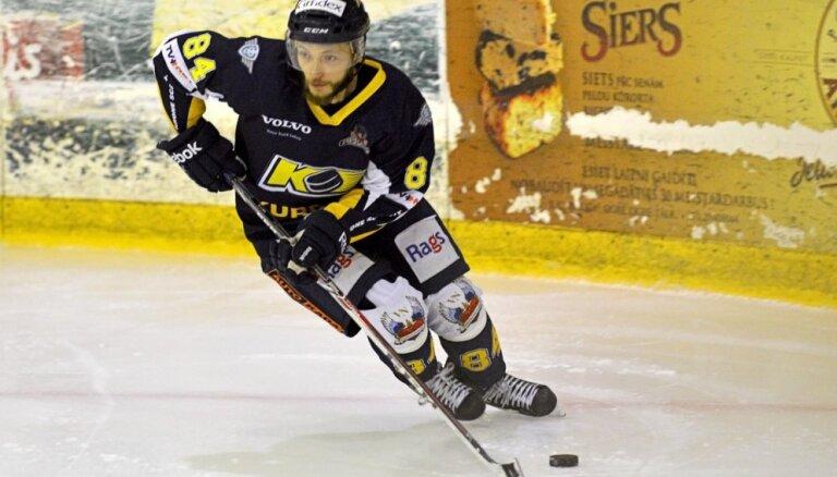 'Kurbads' hokejisti izlīdzina rezultātu Latvijas čempionāta finālsērijā
