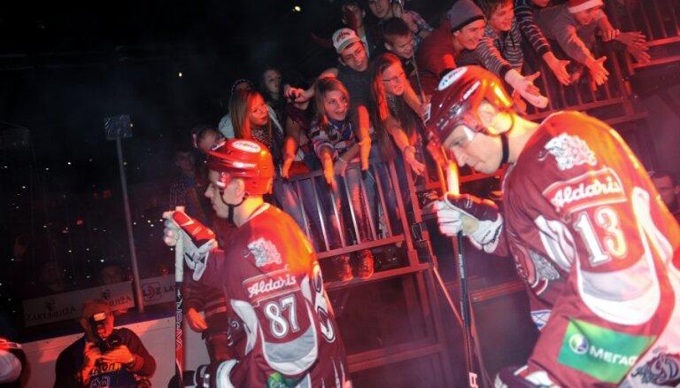 Rīgas 'Dinamo' mājas spēļu sērijas trešajā mačā uzņem 'Ņeftehimik'