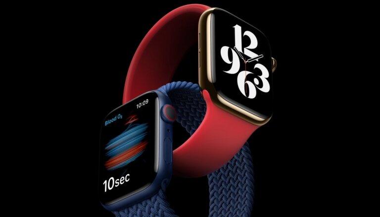 Презентация Apple. Часы, измеряющие уровень кислорода в крови, и новый iPad
