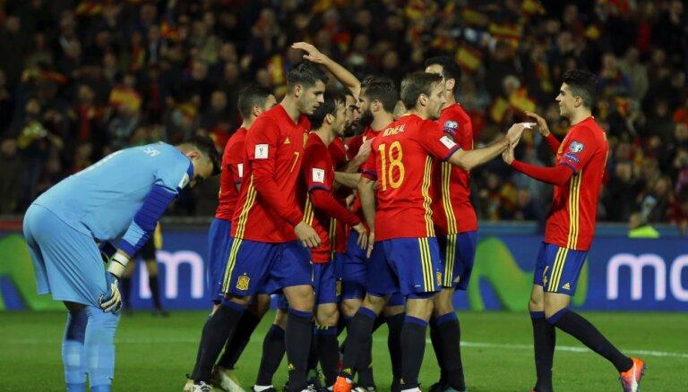 ВИДЕО: Украина вышла на второе место, Испания побила рекорд сборной СССР/России