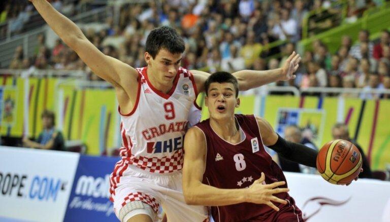 BK 'Jūrmala' basketbolists Žvīgurs atzīts par BBL mēneša labāko spēlētāju