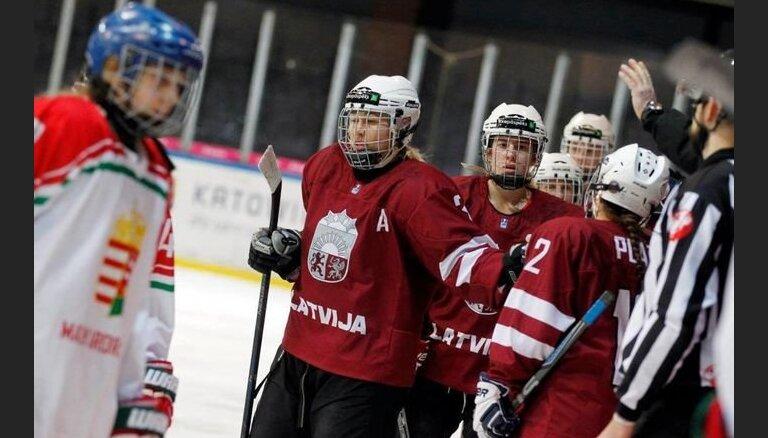 Paziņots Latvijas sieviešu hokeja izlases sastāvs pasaules čempionātam Pekinā