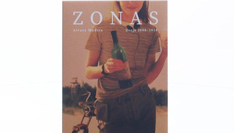 Klajā laists Aivara Madra pirmais dzejoļu krājums 'Zonas'