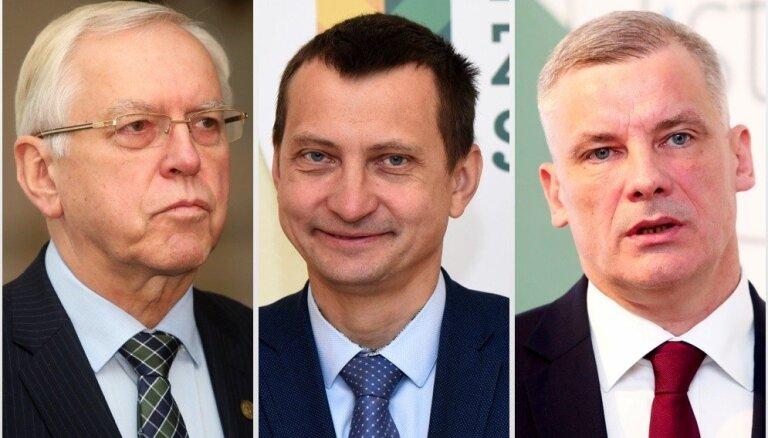Par LZS priekšsēdētāja amatu sacentīsies Krauze, Brigmanis un Arnītis
