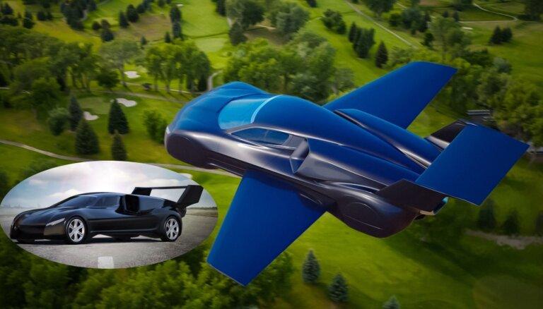 ФОТО: Итальянцы изготавливают реактивный летающий суперкар за 5 млн евро