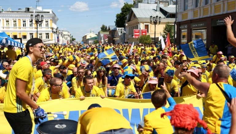 Швеция передумала бойкотировать футбольный чемпионат мира в России
