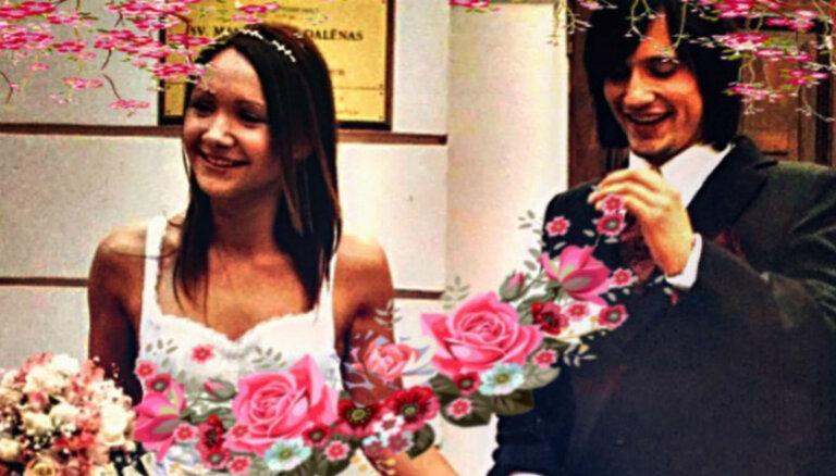 Andris Bulis kāzu jubilejā publisko romantisku sendienu foto