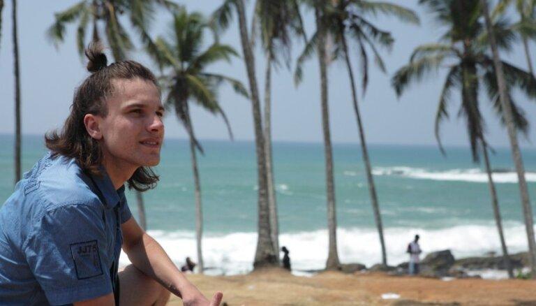 Foto: Andra Ērgļa ceļojums uz tālo Šrilanku