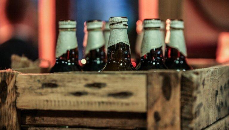 Latvijā saražotā alus apmērs pirmajā pusgadā samazinājies par 3,2%