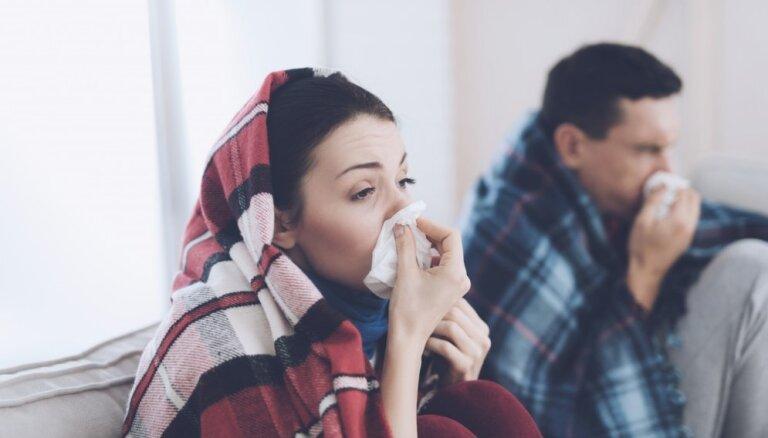 В Латвии началась волна гриппа: госпитализированы первые больные